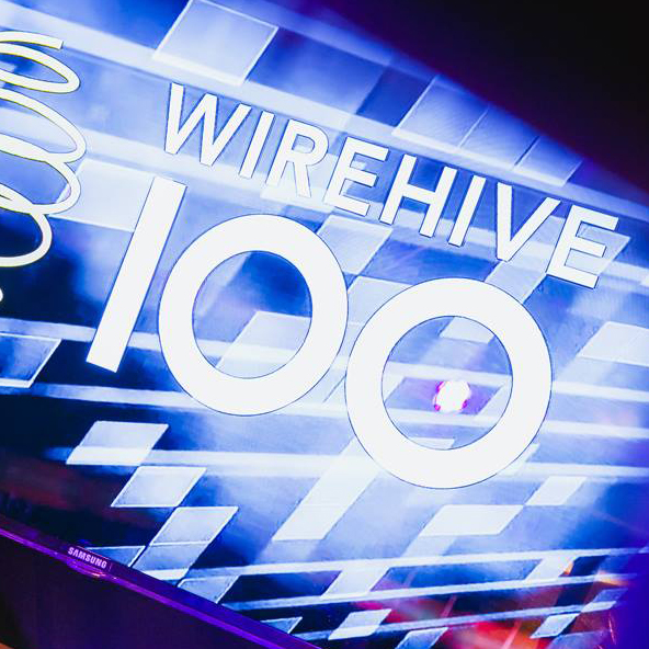 We're finalists in the Wirehive 100 Awards