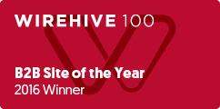 WireHive 100 B2B Site of the Year